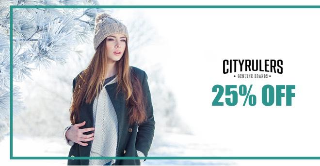 cityrulers.pl wyprzedaż na ubrania miejskie